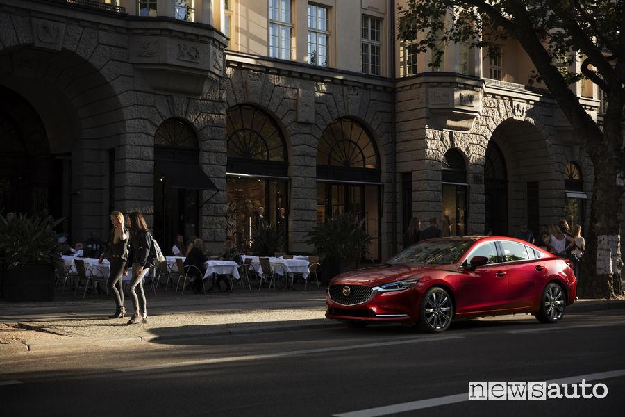 Mazda6 al Salone di Los Angeles 2017