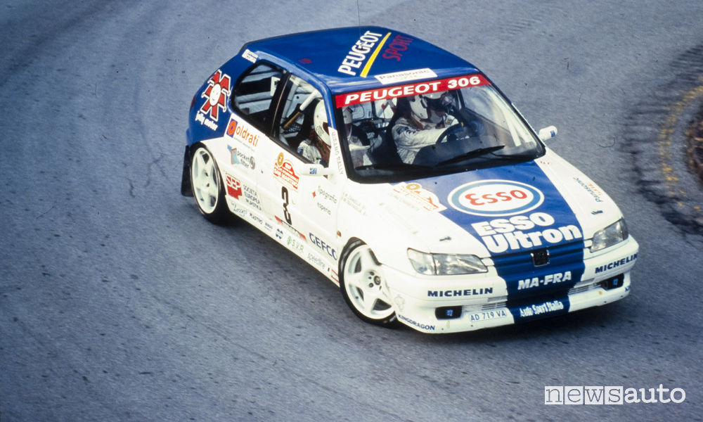 Peugeot 306 rally Gruppo A 1997