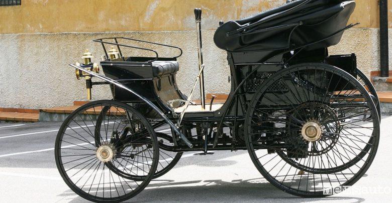 Prima auto in Italia Peugeot Type 3 n.25 del 1893 alla London-Brighton Veteran Car Run