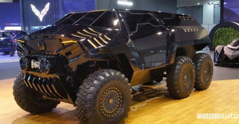 Devel Sixty Dubai Motor Show 2017