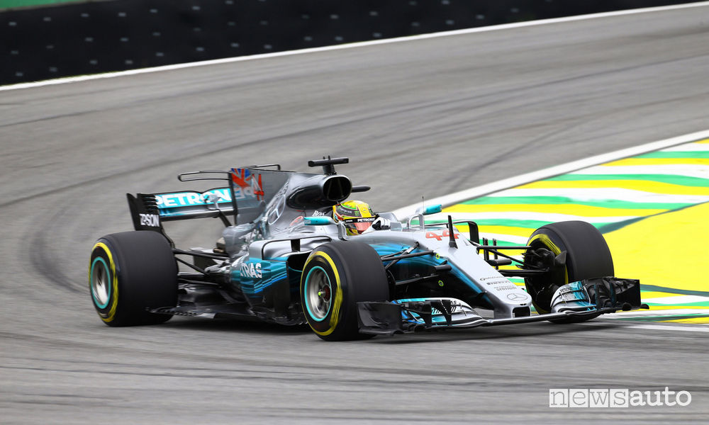 Gp Brasile F1 2017 Mercedes-AMG Hamilton