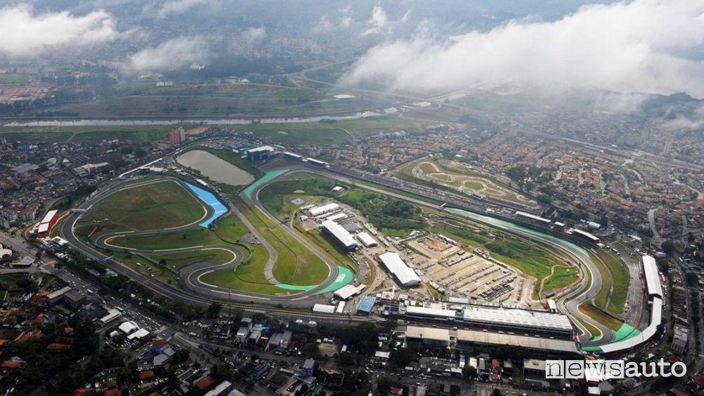 F1 Brasile circuito di Interlagos