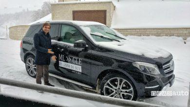Photo of Mercedes-Benz festeggia sulla neve 20 anni del Suv classe M