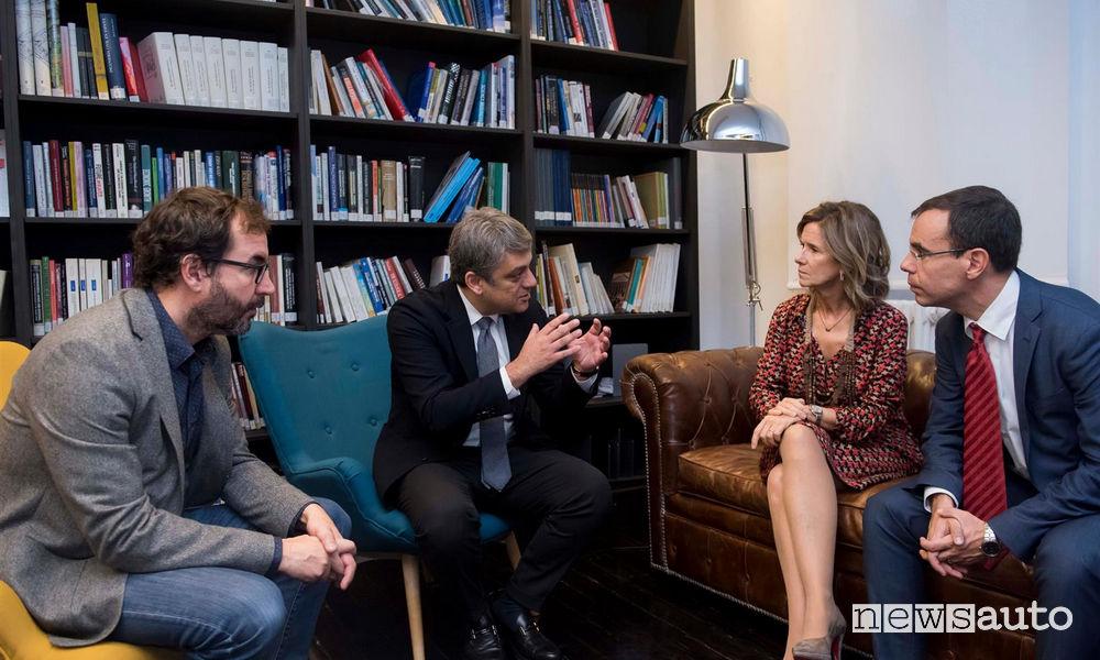 Luca de Meo, Presidente Seat, Fondazione Cotec
