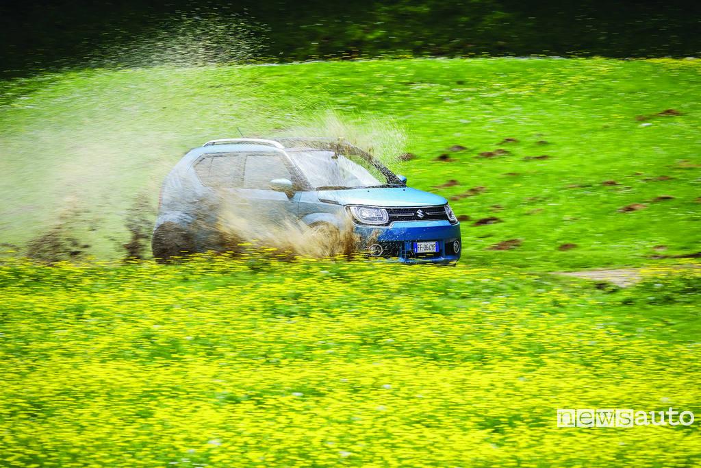 Suzuki Ignis prova come va in off road