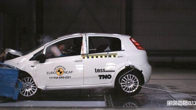 Photo of Crash test Fiat Punto bocciata, zero stelle Euro NCAP