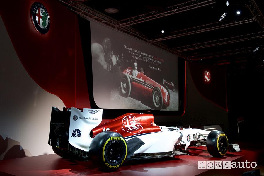 Livrea ufficiale Alfa Romeo F1