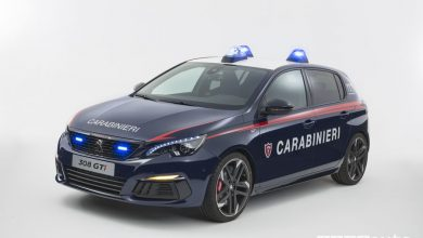 Auto Carabinieri Peugeot 308 GTiby Peugeot Sport