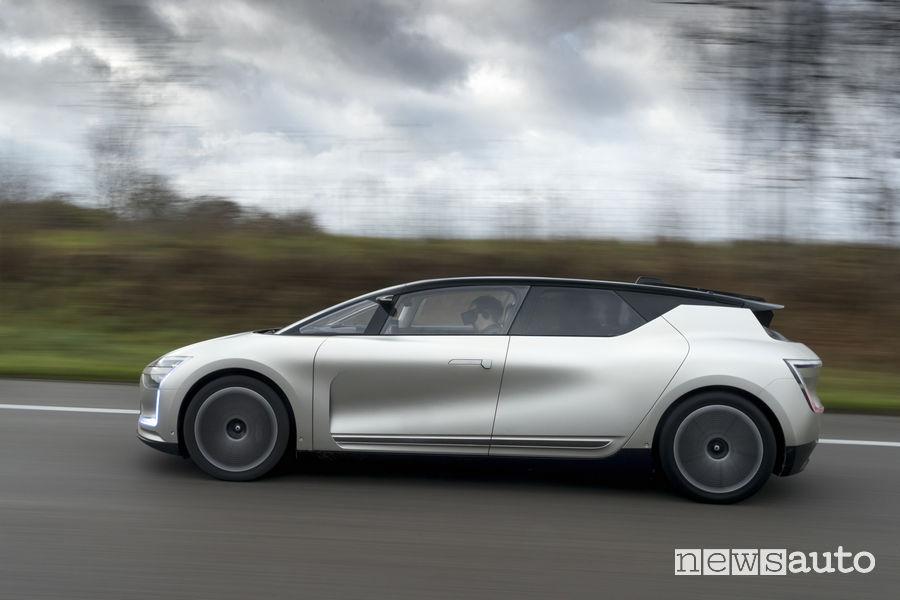 L'auto del futuro RenaultSymbioz Demo car