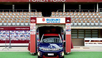 Sponsor auto calcio Suzuki Torino