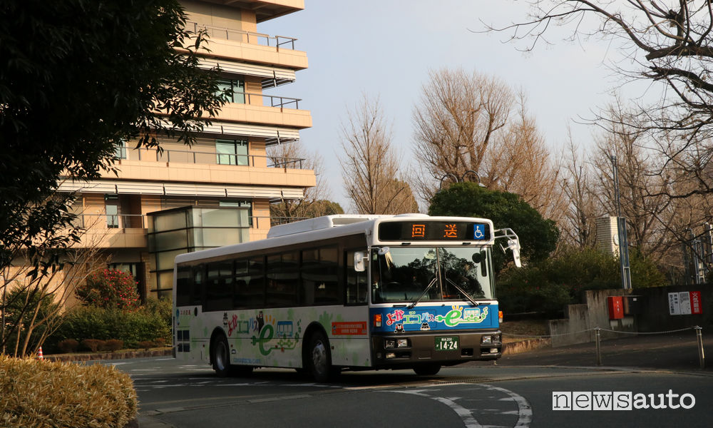 Autobus elettrici Giappone NISSAN