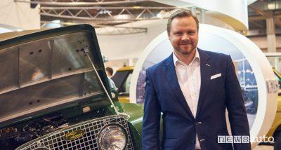 Tim Hannig, Direttore Jaguar Land Rover Classic