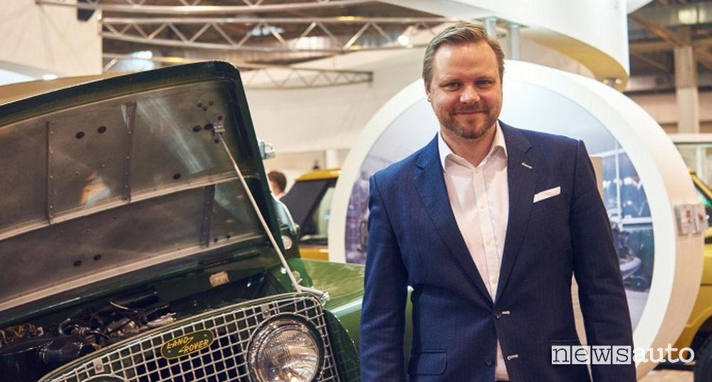 Tim Hannig, Direttore di Jaguar Land Rover Classic