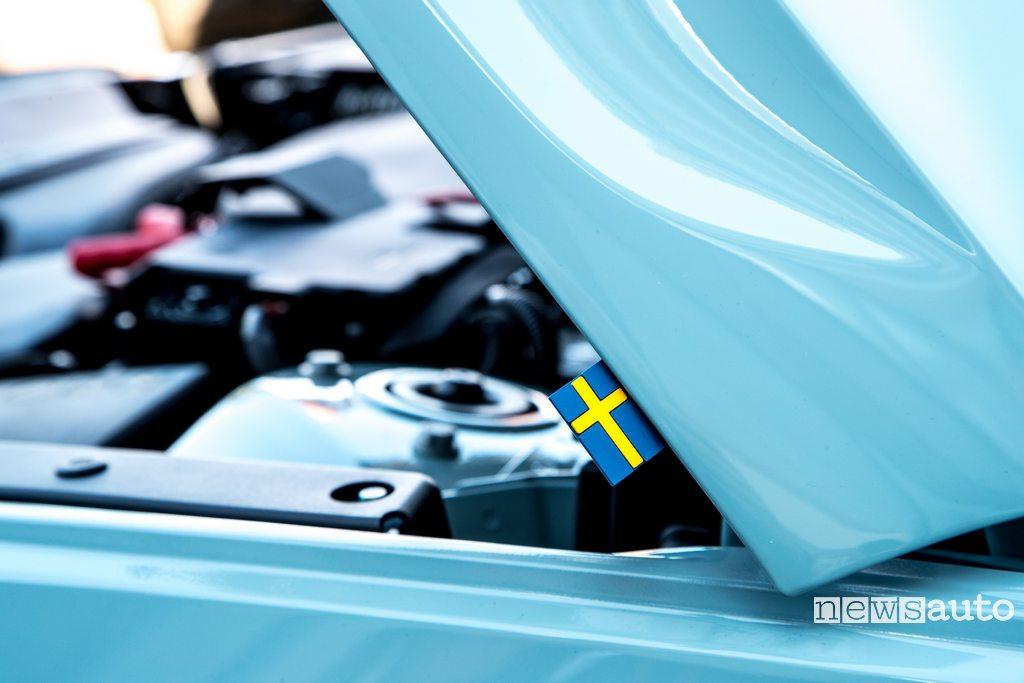 Volvo XC40 motore