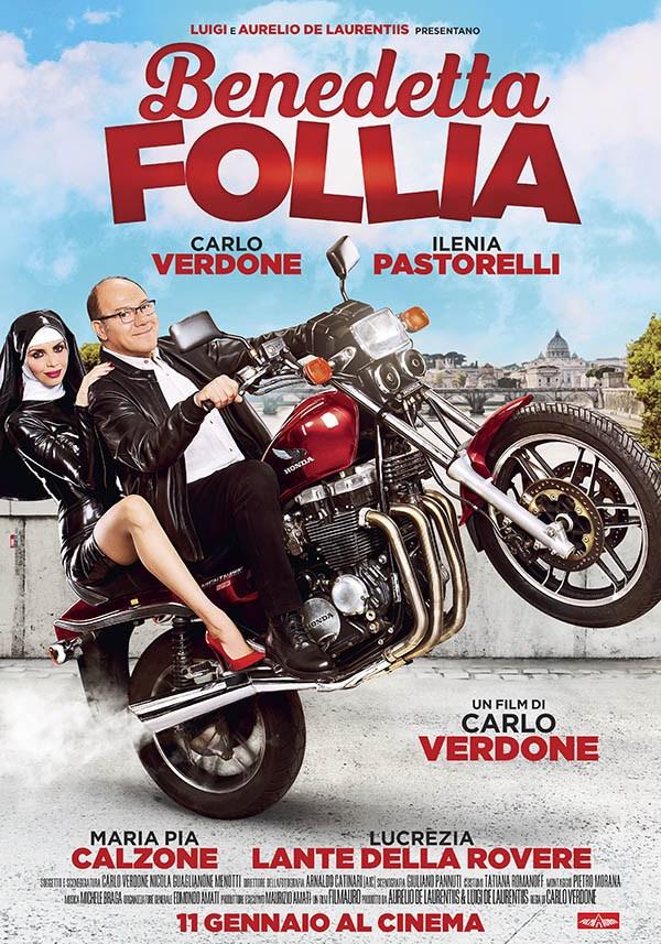 Benedetta Follia con Carlo Verdone IL POSTER