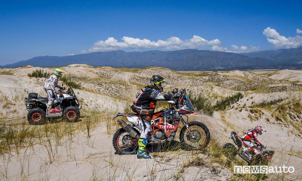 Dakar 2018 10^ tappa Salta-Belen moto e quad