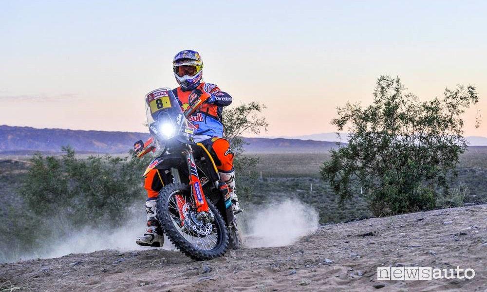 Dakar 2018 13^ tappa San Juan-Cordoba moto KTM