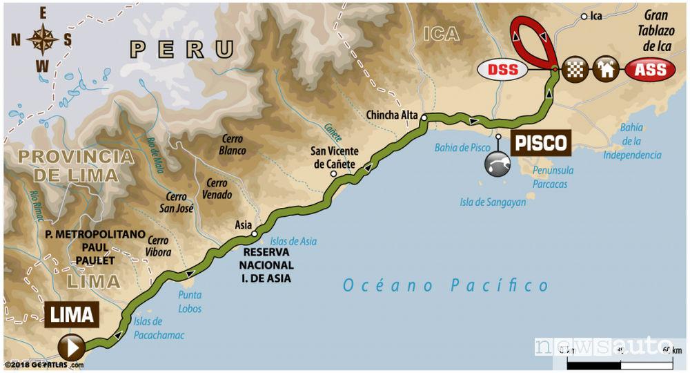 Dakar 2018 1^ tappa Lima-Prisco