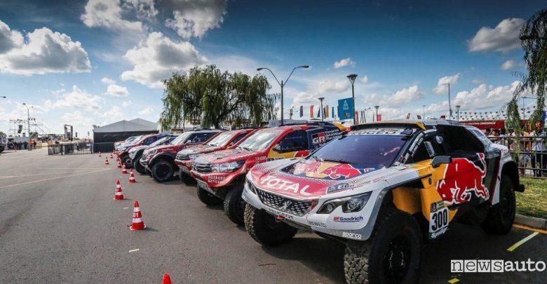 elenco iscritti auto Dakar 2018