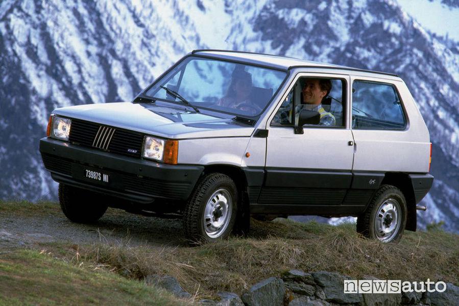 Fiat Panda 4x4 vecchio modello prima seria