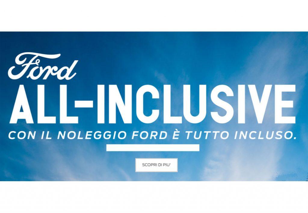 Ford-All-inclusive Noleggio a Lungo Termine