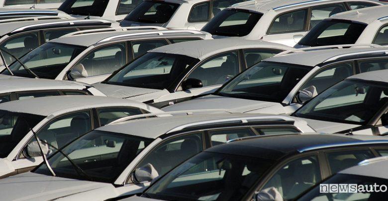 Vendite auto febbraio 2020