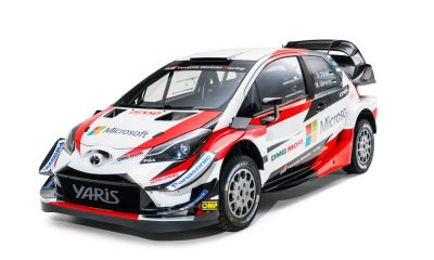 Auto da Rally 2018 Toyota Yaris WRC 2018