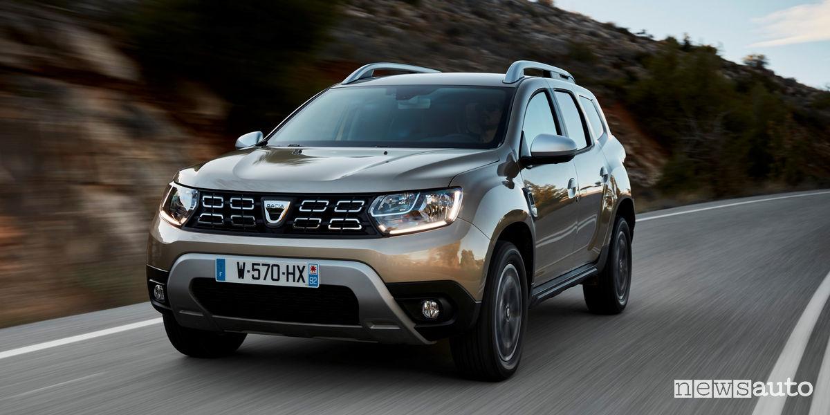 nuove auto 2018 Dacia Duster