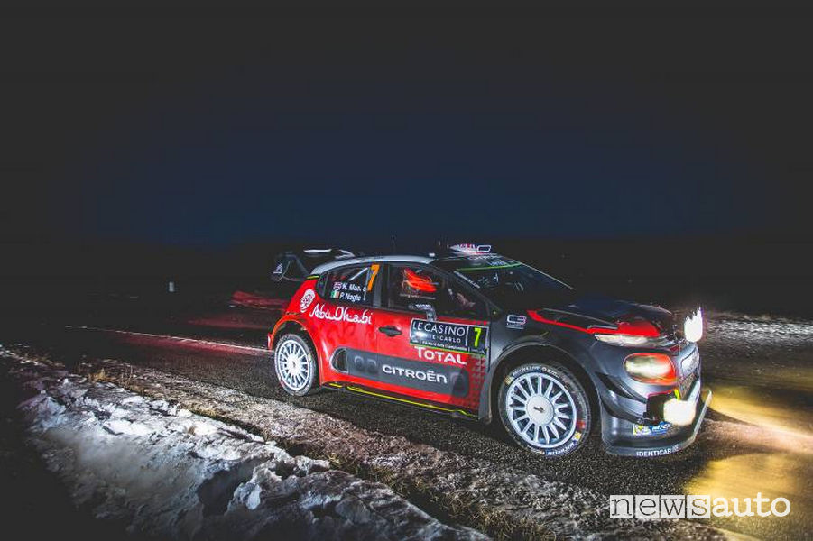 Rally Montecarlo Citrone C3 WRC