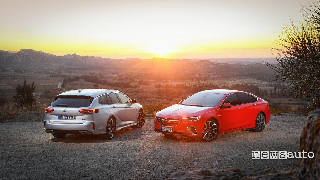 Opel Insignia GSi come è fatta