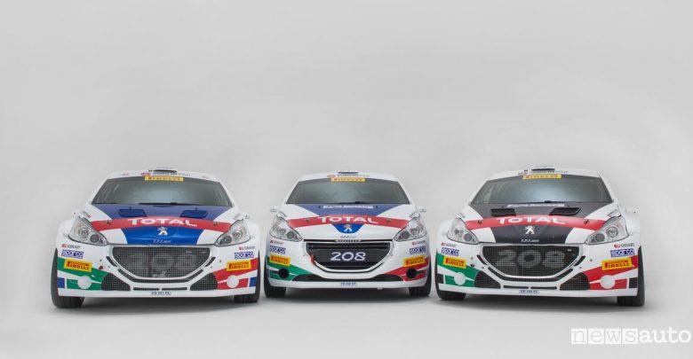Peugeot Calendario Campionato Italiano Rally 2018