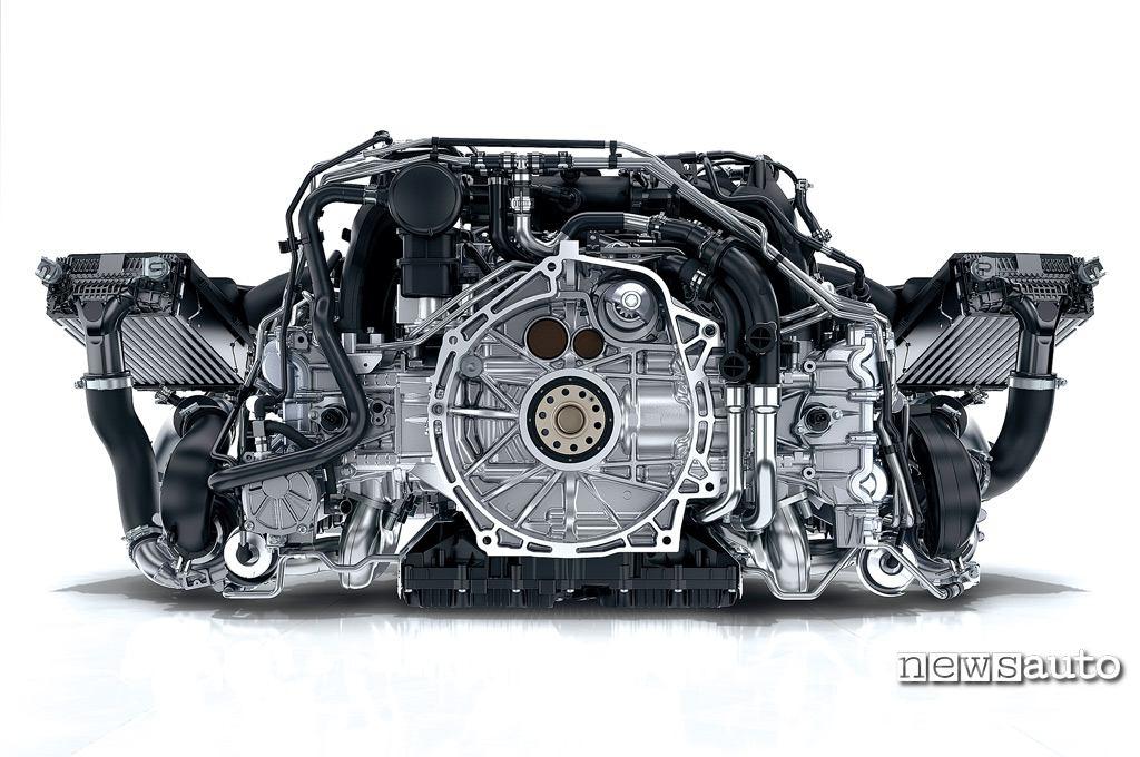 Porsche 991 Turbo motore