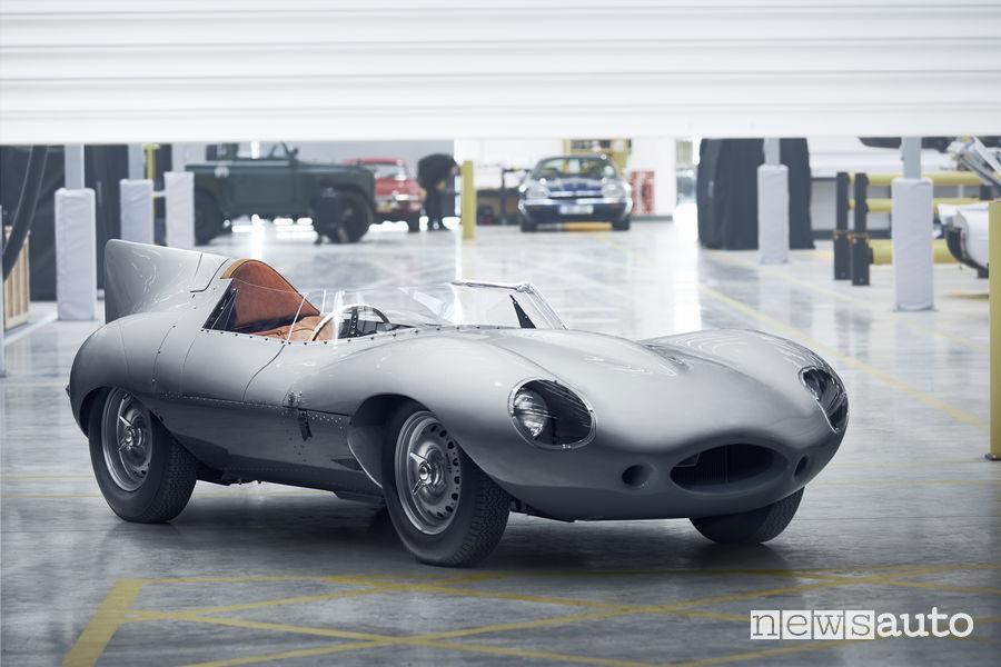 Jaguar storica D-Type