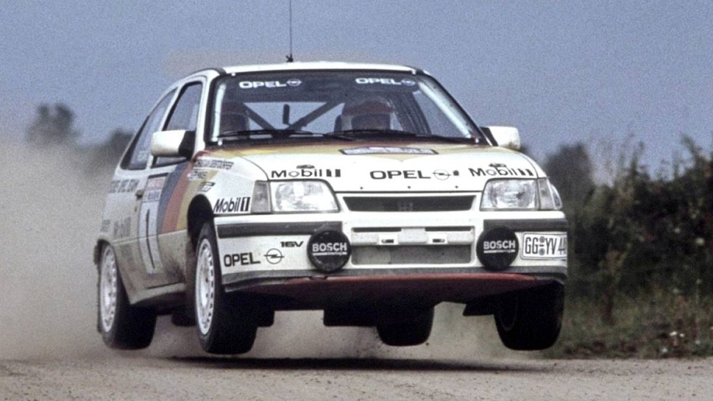Opel Kadett Gsi Rally Groupe A