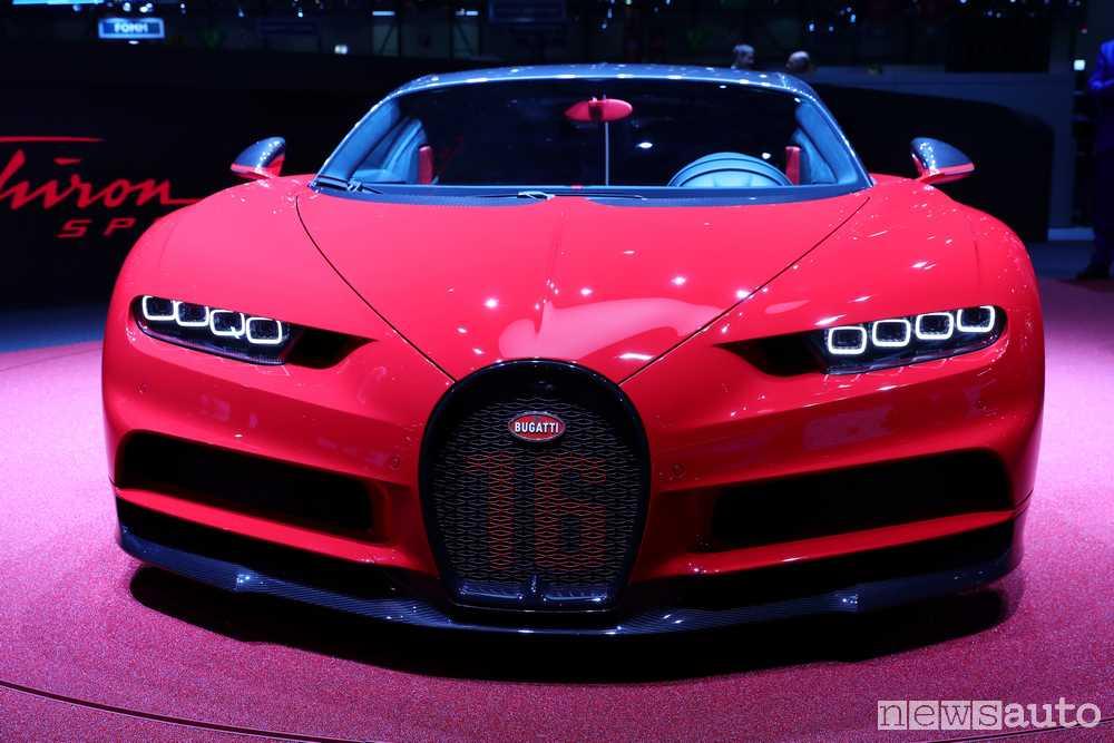 Bugatti Chiron 2018 Ginevra
