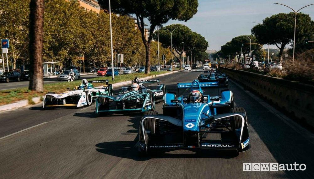 Formula E Roma info