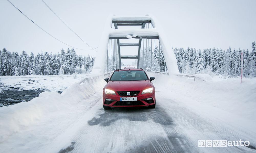 Test auto estremi Seat Ateca FR
