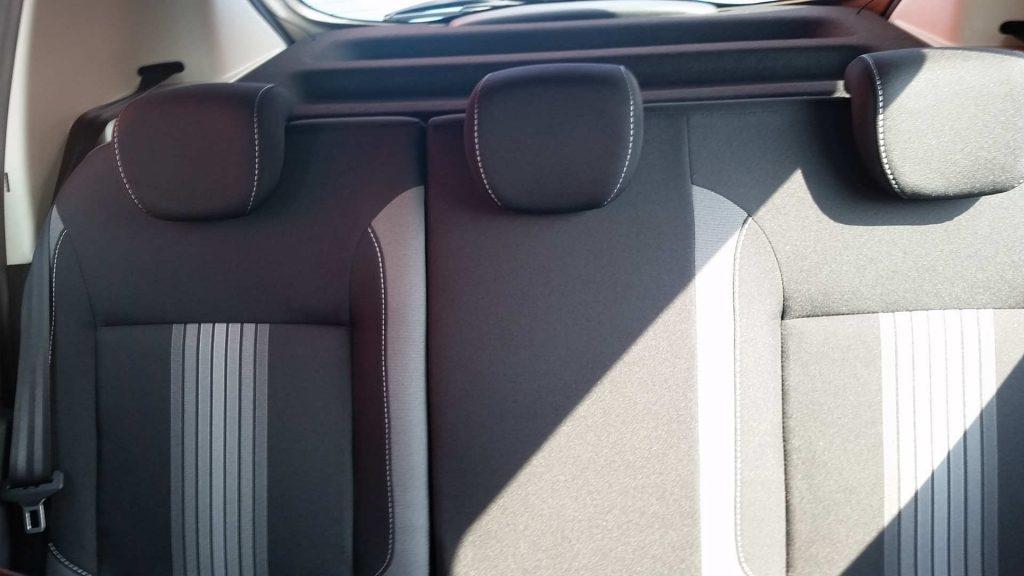 Sedili posteriori serie Speciale Dacia WOW