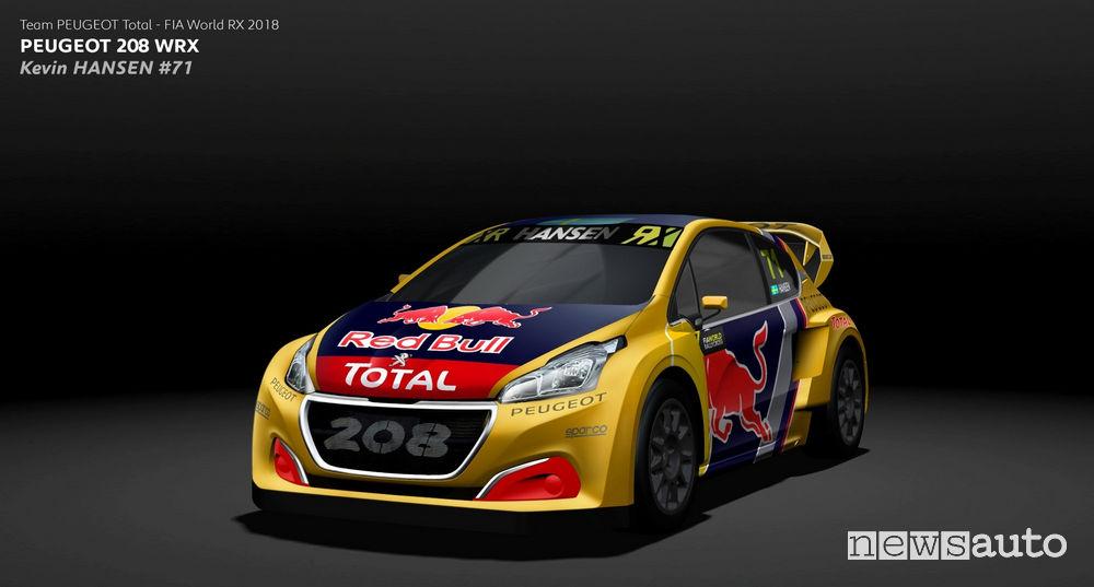 WRX 2018 Peugeot Rallycross