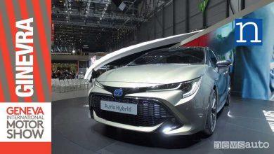 Photo of Toyota Auris 2018 al Salone di Ginevra