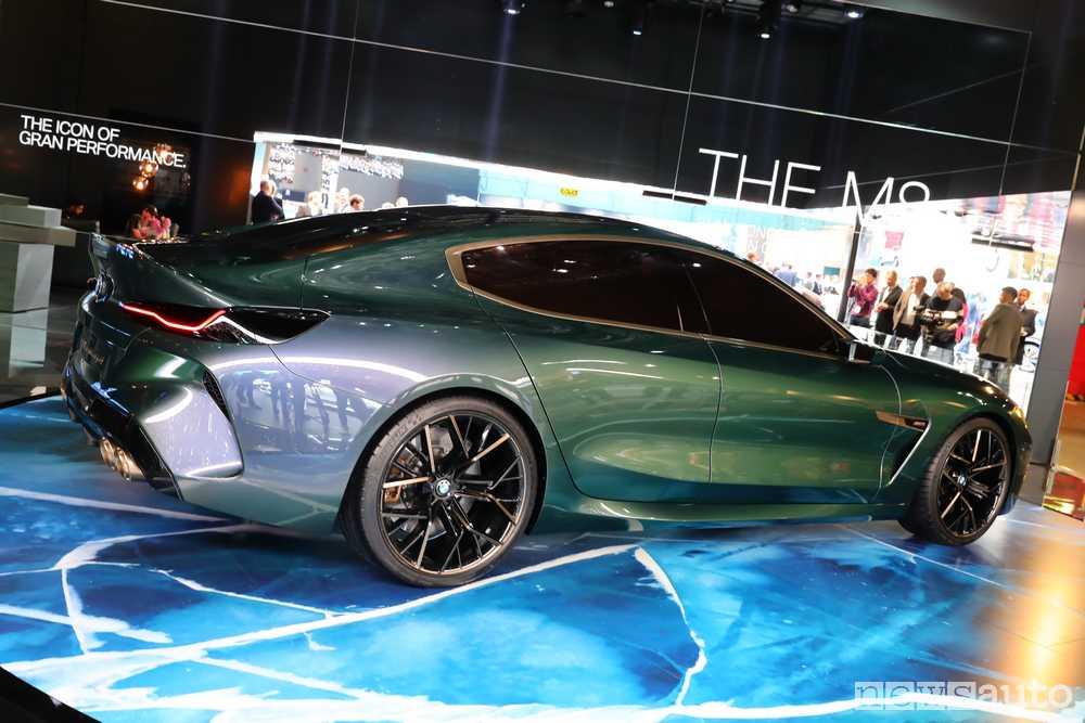 BMW Concept M8 Gran Coupe Ginevra