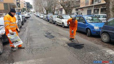 Foto Buca Roma riparazione