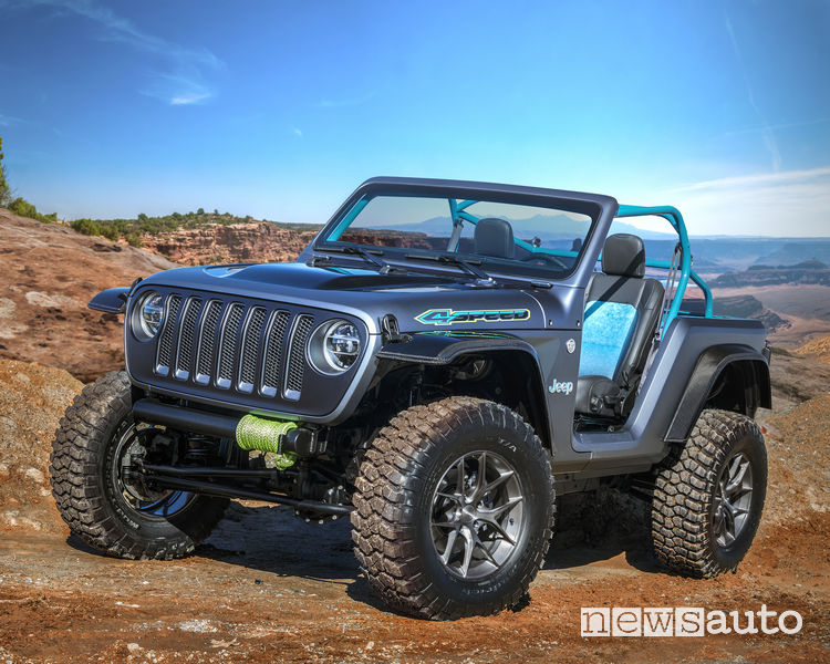 Jeep concept Easter Jeep Safari 2018 Jeep 4Speed Concept