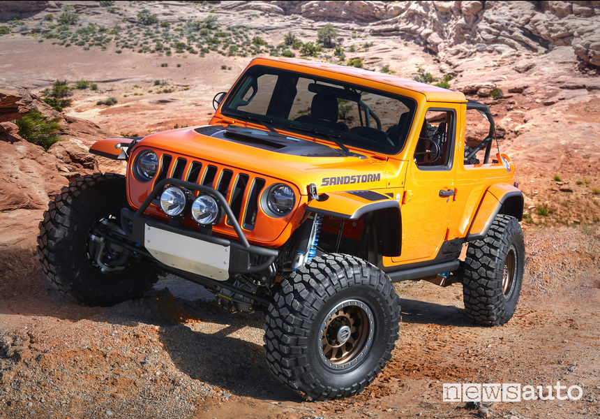 Jeep concept Easter Jeep Safari 2018 Jeep Sandstorm