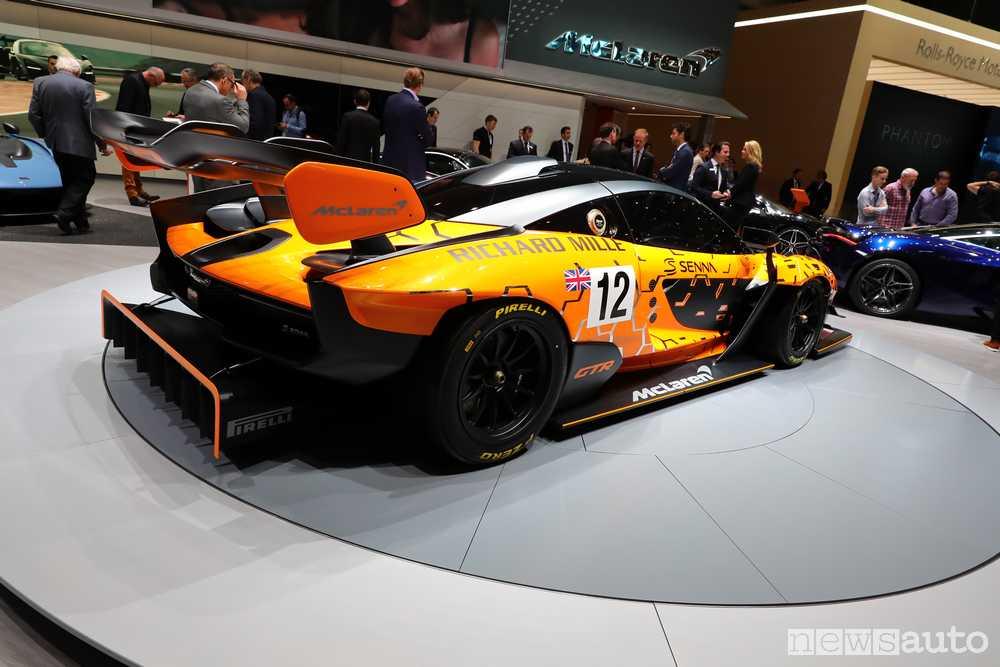 McLaren Senna GTR Ginevra