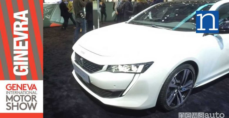 Photo of Nuova Peugeot 508 a GINEVRA