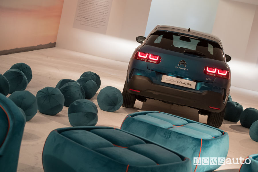 Citroen C4 Cactus alla Design Week 2018