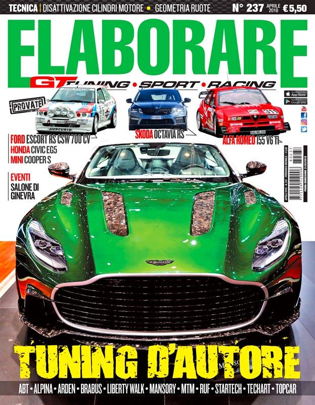 Elaborare magazine cover aprile 2018 155 V6TI