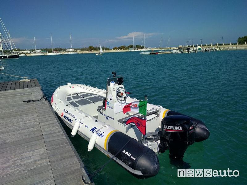 Gommone Italo con motore Suzuki