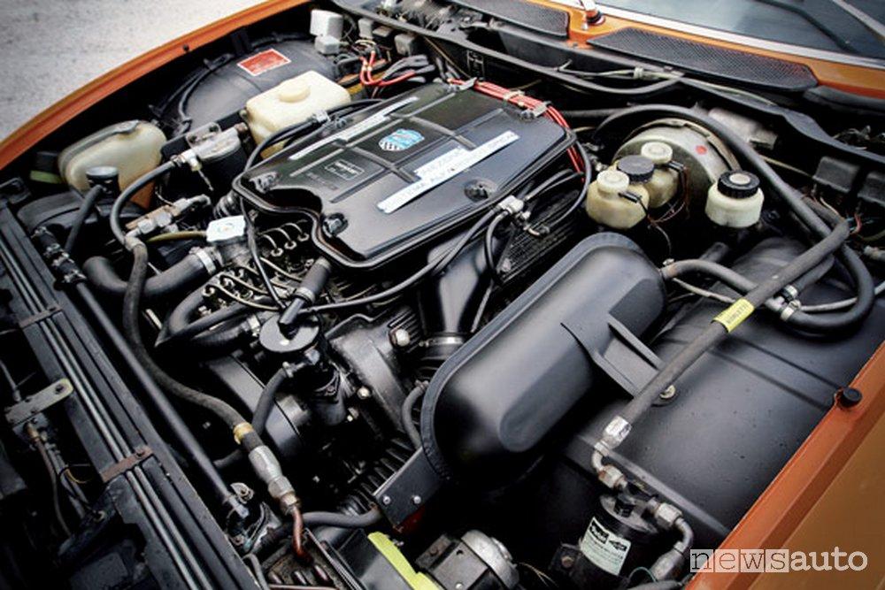 Alfa Romeo Montreal 2.6 V8 motore